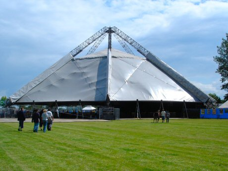 Pyramid Marquee by Bart Claeys